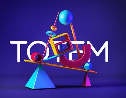 """""""Totem"""" - Modelado 3D / 3D Model"""