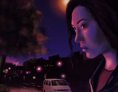 NEON NIGHT (portrait)