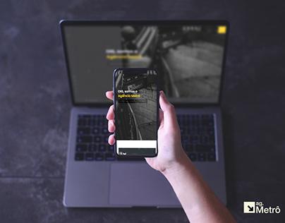 Agência Metrô - ID Visual & Website