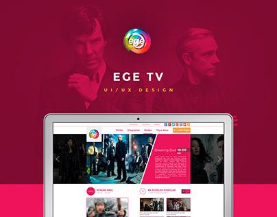 EGE TV Web Design
