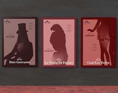 Mozart Opera Posters