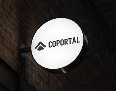 Coportal Co-working Space branding design
