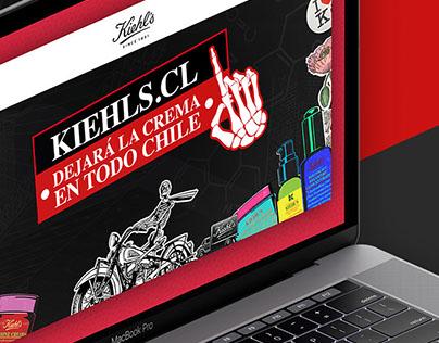 Kiehl's.cl Dejará la crema en todo Chile.