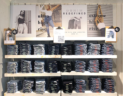 Denim Wall Signage