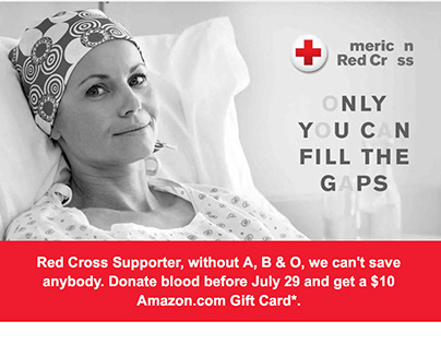 American Red Cross email - Missing Type