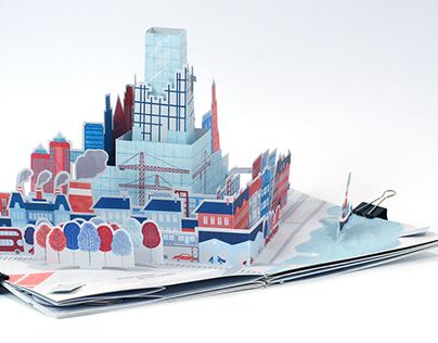 Pop-up Book - Day after Tomorrow