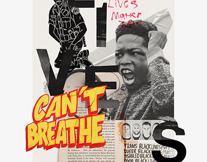 Black Lives Matter (collages)