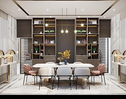 Dining Room , Villa In Saudi Arabia