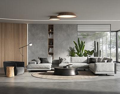 Poliform living room