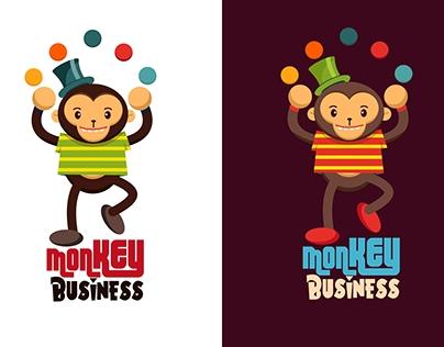 T Shirt Design - Monkey Business