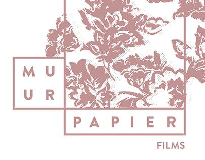 Muurpapier Films: production company branding