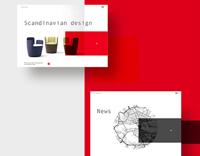 Scandinavian design | Website