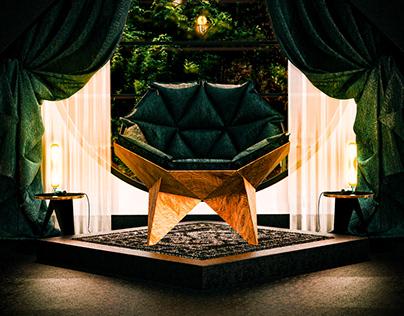 Interior Design Concept - Modern Nature