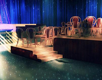BACK IN TIME / Set Design for TV Show