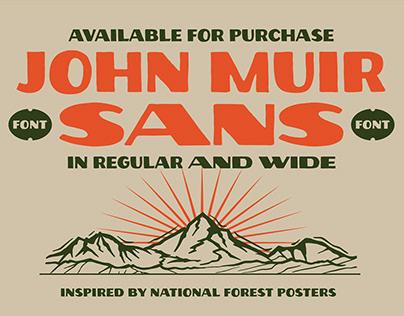 John Muir Sans Typeface