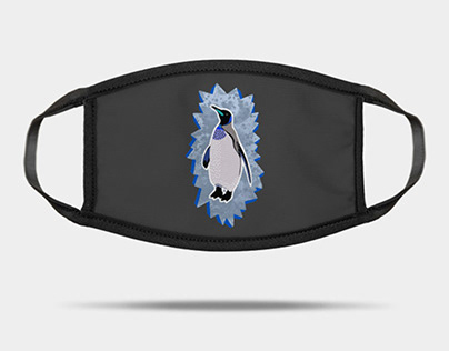 Penguin design (on Teepublic)