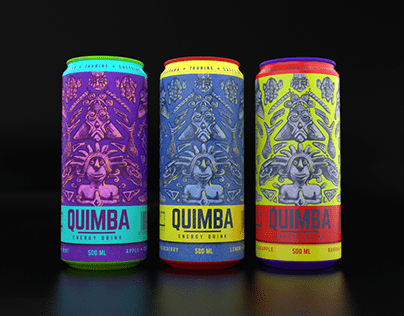 Label design energy drink