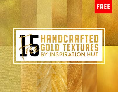15 Free Metallic Gold Textures