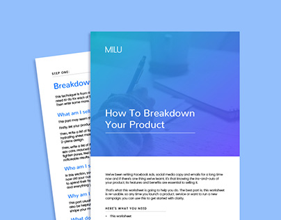 MILU Consulting Branded Documents