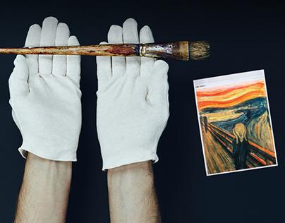 Adobe Munch Contest : Hidden treasures of creativity