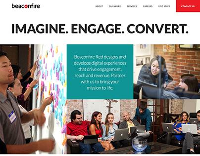 Beaconfire Red Website Redesign