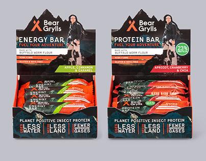 Bear Grylls Energy & Protein Bars