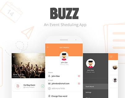 BUZZ   An Event Scheduling App