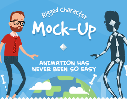 Rigged Character Animations for After Effects