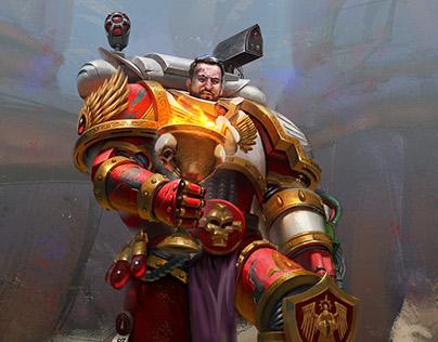 Warhammer 40 K fanart