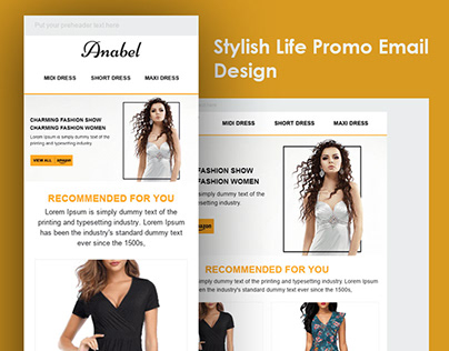 Stylish Life Promo Email Template