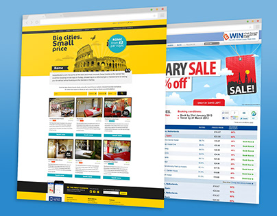 Landing Pages @Hostelbookers/Hostelworld