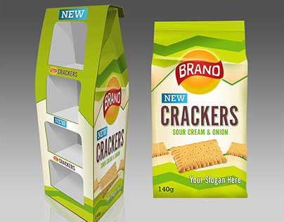Cracker Pos Display SAMPLE ONLY