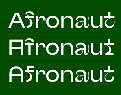 Afronaut Typeface