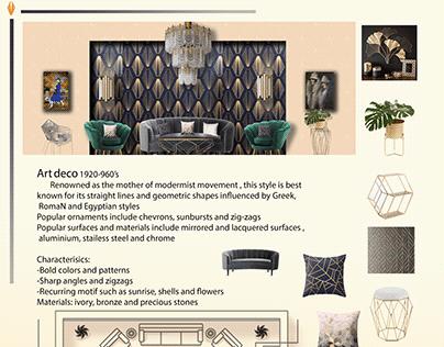 ArtDeco living room