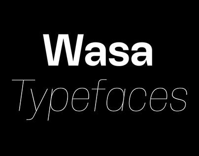 Wasa Variable Typeface