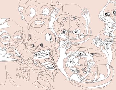 Faces of Delirium- Animation
