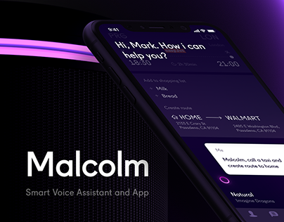 Malcolm — Smart Voice Assistant and App