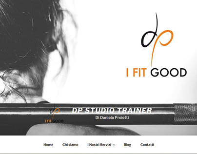 DP Studio Trainer - Sito Internet