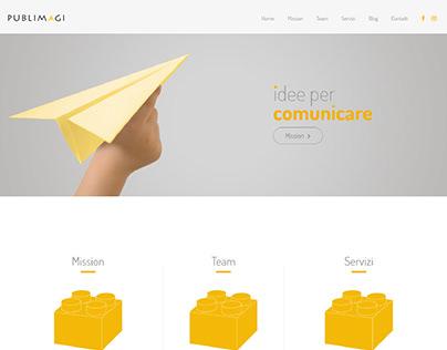 Publimagi Agency | Web Design - Landing Page