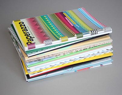 editorial design Paperazzo Magazine