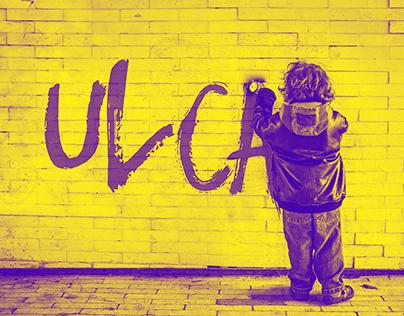 Youth center ULCA branding
