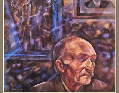 """""""Былое и думы. Father's portrait""""."""