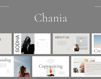 Chania Presentation Template