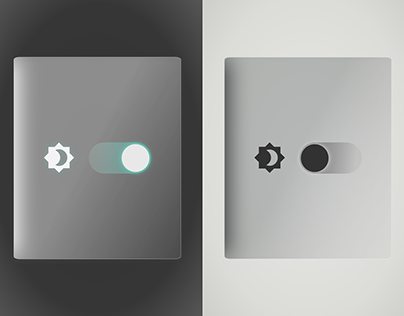 Daily UI #015 - Darkmode switch