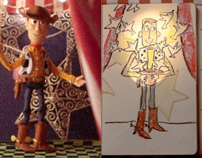 Moleskine & Toy Story