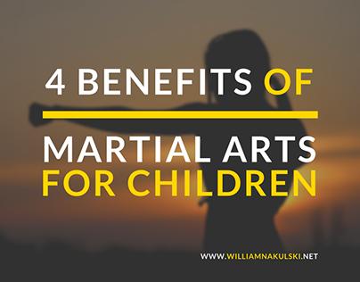 4 Benefits of Martial Arts for Children