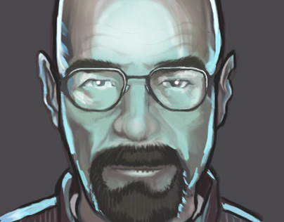 Walter White fun art