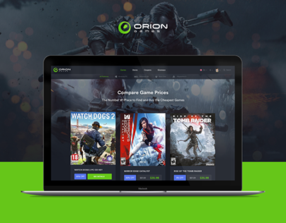 ORION | Compare Game Price Website