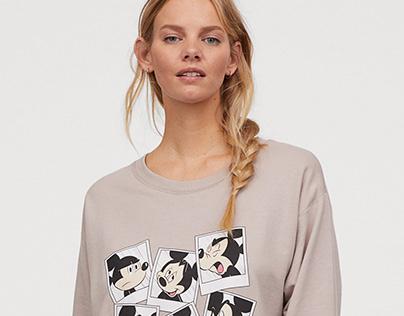 Mickey polaroids - for H&M