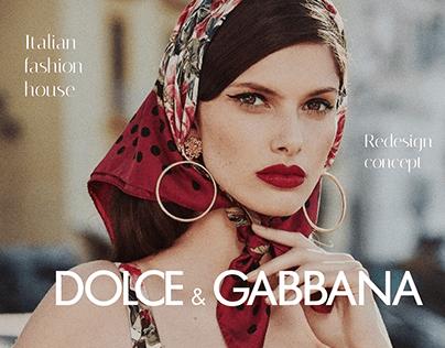 Dolce & Gabbana on Behance